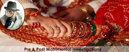 Pre Matrimonial Investigations, Pre Marriage Investigations, Pre Martial Investigations, Detective Agency in Mumbai, India